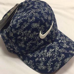 NWT NIKE Aerobill Floral Running Hat